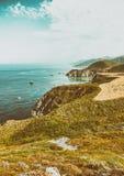 Большая береговая линия Sur около Монтерей, CA Стоковое фото RF