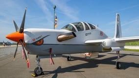 Большая возвышенность и разведывательный самолет Grob g 520T стоковая фотография