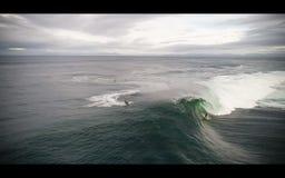 большая волна серфера стоковое изображение rf