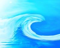 Большая волна Стоковые Фотографии RF