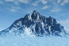 большая гора стоковое изображение rf