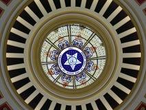 большая государственная печать купола детали стоковое изображение