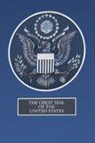 Большая государственная печать Соединенных Штатов Стоковое Изображение RF