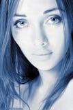 большая девушка глаз Стоковые Фото