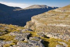 большая долина ordesa стоковое фото