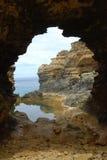 большая дорога океана grotto Стоковое фото RF