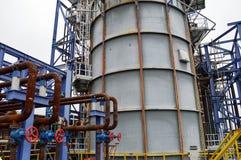 Большая емкость для нефтехимической промышленности стоковое фото