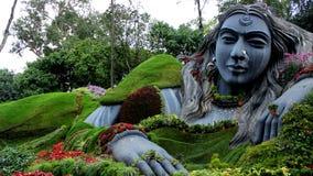 Большая женская статуя в Chikkamagalur Стоковое фото RF