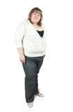 большая женщина стоковое фото