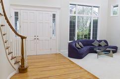Большая живущая комната Стоковое Изображение