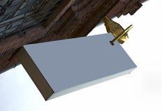 большая золотистая серая ключевая плата Стоковая Фотография RF
