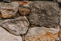 Большая каменная предпосылка искусственная голубая светлая каменная стена Предпосылка большого бетона Стоковое Фото