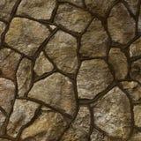 Большая каменной текстура стены и мостоваой Стоковые Изображения