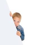 большая карточка мальчика Стоковая Фотография