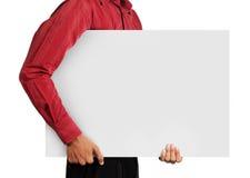 большая карточка Стоковое Изображение RF