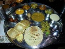 Большая кухня гуджаратей стоковое изображение