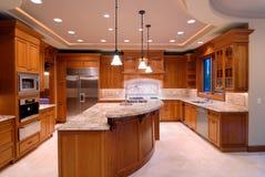 большая кухня Стоковое Изображение RF