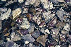 Большая куча песчаников, объем запоминающего устройства различного фантастического песчаника Отказы и слои предпосылки песчаника  Стоковое Изображение