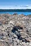 большая куча obsidian Стоковое Фото