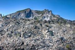 большая куча obsidian Стоковое Изображение RF
