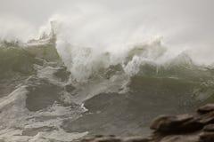 Большая ломая волна Стоковое Изображение