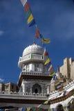 большая мечеть leh ladakh Индии Стоковые Фотографии RF