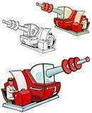 Большая наука, оружие луча Стоковое Изображение RF