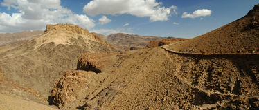 большая панорама горы Стоковая Фотография