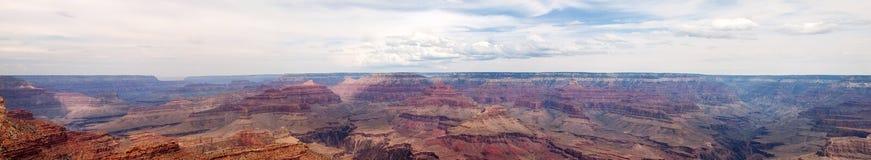 большая панорама gran каньона Стоковые Изображения RF