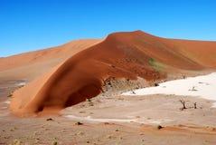 Большая песчанная дюна стоковые изображения