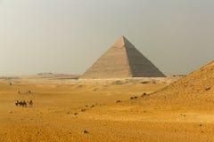 Большая пирамидка стоковые изображения
