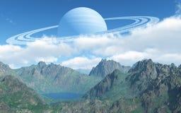 Большая планета стоковые изображения