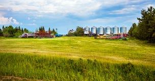 Большая прерия Альберта Канада 21-ого июня 2018 стоковое фото