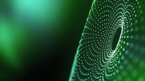 Большая принципиальная схема данных Глобальный сход информации Введение искусственного интеллекта Концепция виртуального простран бесплатная иллюстрация