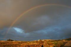 большая радуга Стоковое Изображение RF