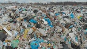 Большая свалка мусора видеоматериал