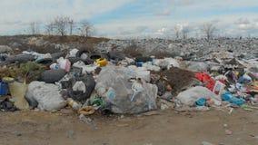 Большая свалка мусора акции видеоматериалы