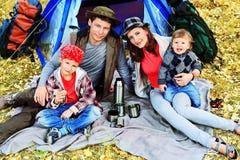 большая семья Стоковые Фотографии RF