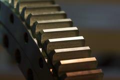 Большая стальная съемка шестерни Стоковое фото RF