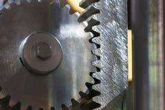 Большая стальная съемка шестерни Стоковая Фотография RF