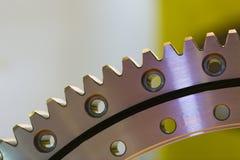 Большая стальная съемка шестерни Стоковые Фотографии RF