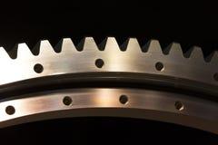 Большая стальная съемка шестерни Стоковое Изображение