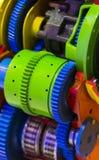 Большая стальная съемка шестерни Стоковое Изображение RF