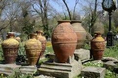 Большая стародедовская ваза Стоковая Фотография RF