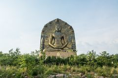 Большая статуя Будды на ito khao, Стоковое фото RF