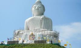 Большая статуя Будды, Пхукет, Таиланд стоковое изображение rf