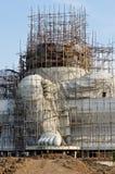 Большая статуя ganesha под конструкцией Стоковые Фото