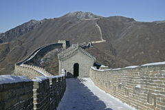 большая стена Пекин Стоковая Фотография