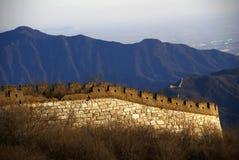 большая стена jiankou Стоковые Фото