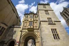 Большая сторожка на соборе Бристоля стоковое фото rf